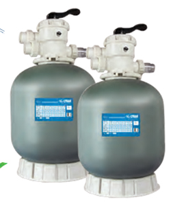 L-SERIES FIBERGLASS TOP MOUNT SAND FILTER