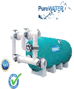 H-SERIES FIBERGLASS HORIZONTAL SAND FILTER