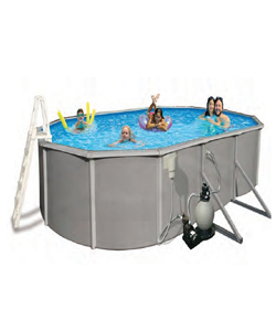 OVAL STEEL FRAME POOL