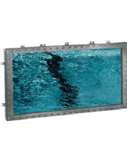 RECTANGULAR UNDERWATER OBSERVATION WINDOW