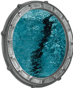 ROUND UNDERWATER OBSERVATION WINDOW